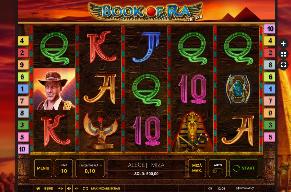 Joc De Casino Book Of Ra